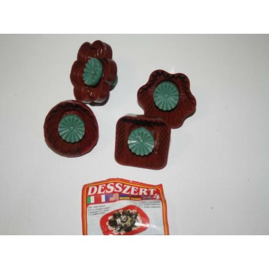 Печенье дессерт набор из 4 плунжеров