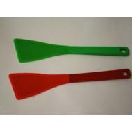 Силикон лопатка на деревянной основе косая (НН580) 290х60 №024