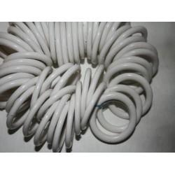 Кольцо шторное D50 пластм. белое