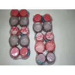 Кекс бумажный для мафинов и капкейков 70х50х30 (1000шт) Р0105 А+