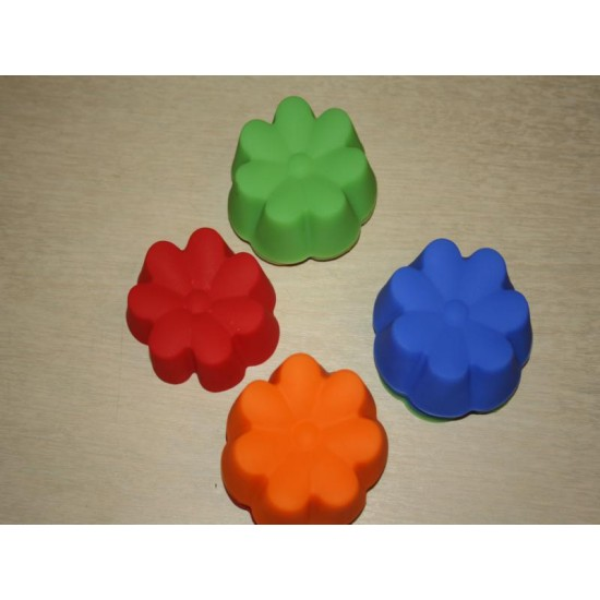Силикон мафин семицветик (А603) (12шт) №633