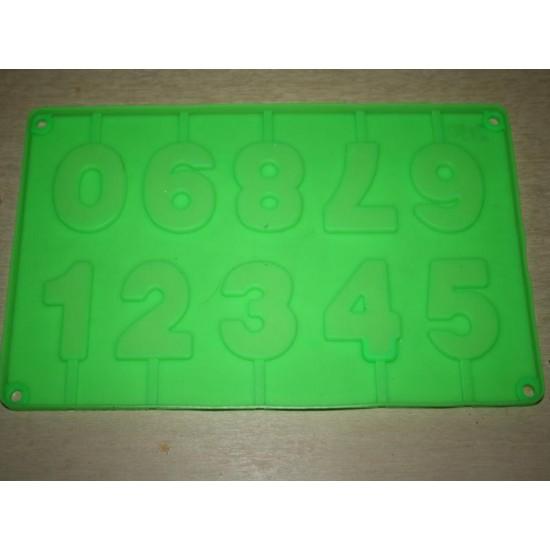 Силикон цифры (жсц2190) №696