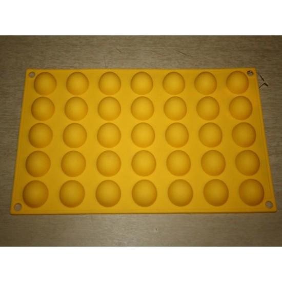 Силикон шарик из 35 (жсц2508) 295х170х8 №705