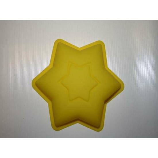 Силикон звезда шестиконечная d127х30 №105