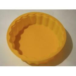 Силикон пирог круглый волнистый  (Н287) 260х60 №074