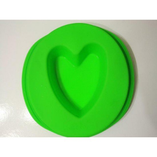 Силикон сердце-бисквит 220х45 (НН413) №449